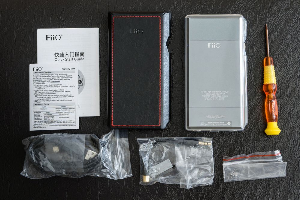fiio x7 mark ii manual